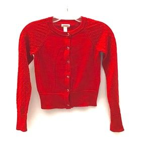 New SALE PRICE-Cat & Jack Girl Red Sparkle Sweater